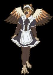 Owl Maid Costume