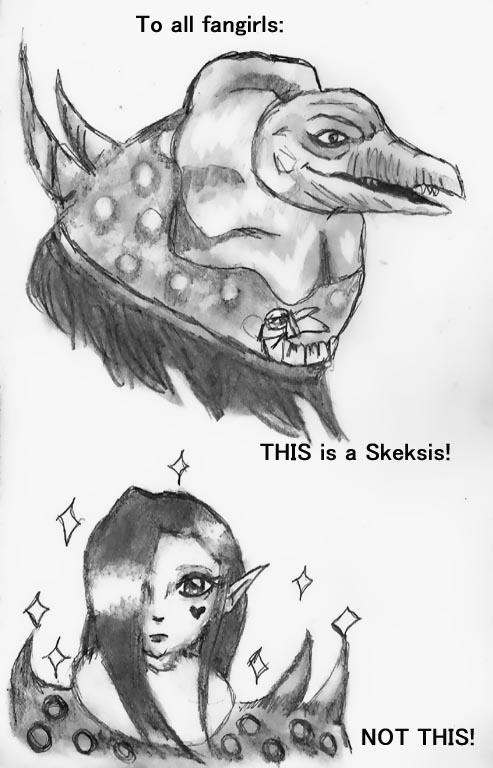 Real Skeksis, Fake Skeksis