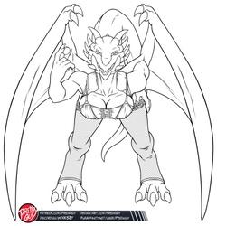 Dragoness Madeleine 02 -ALT01