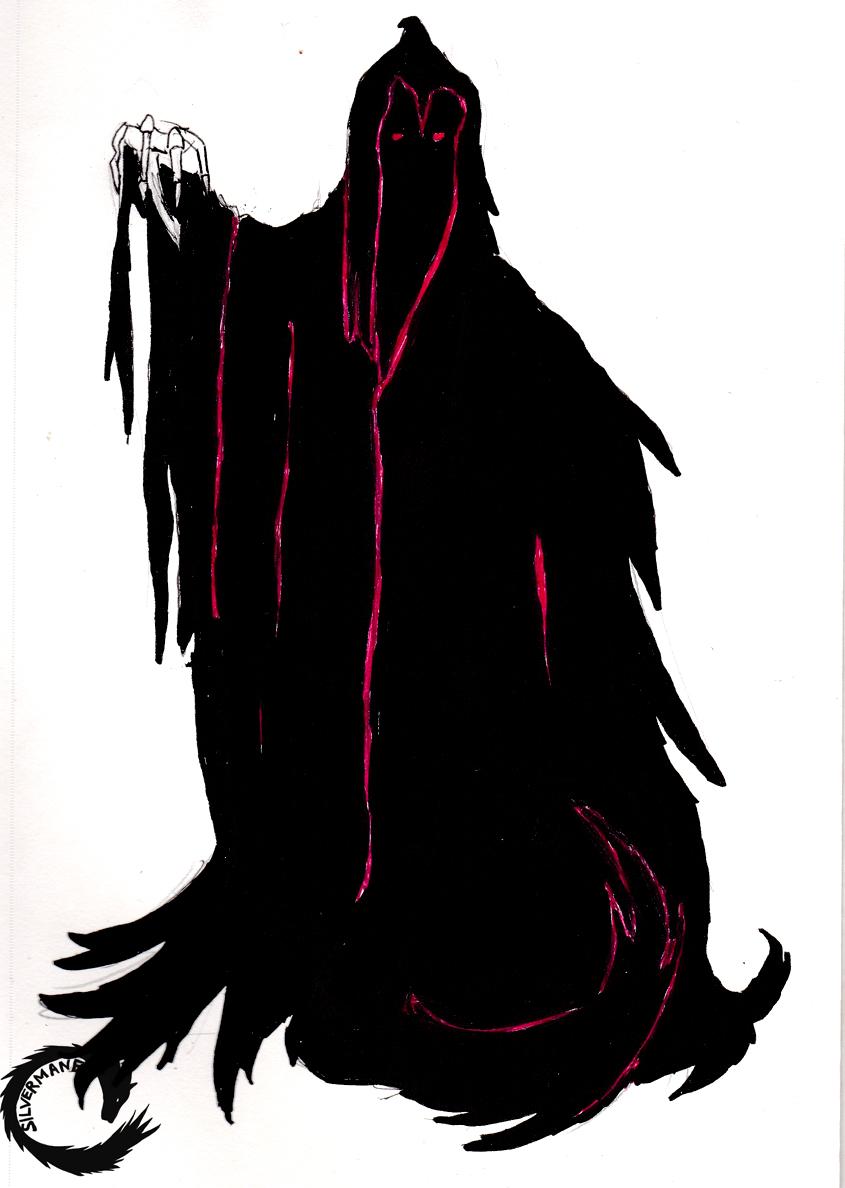 Inktober # 15 Wraith