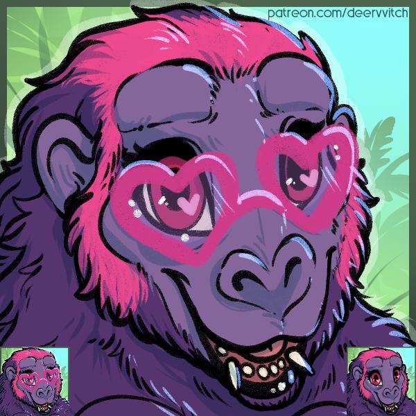 [Icon] Sweetheart Gorilla