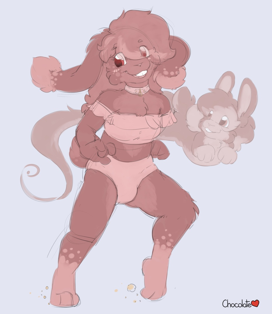 My New Fursona: Ruby Chocolate
