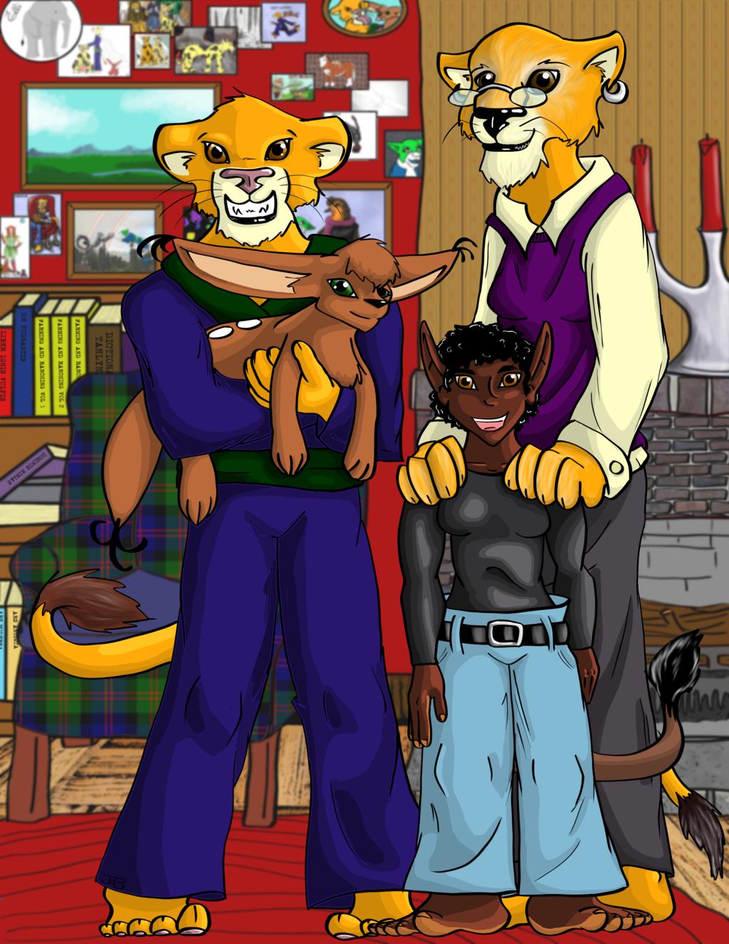Kou Family Portrait