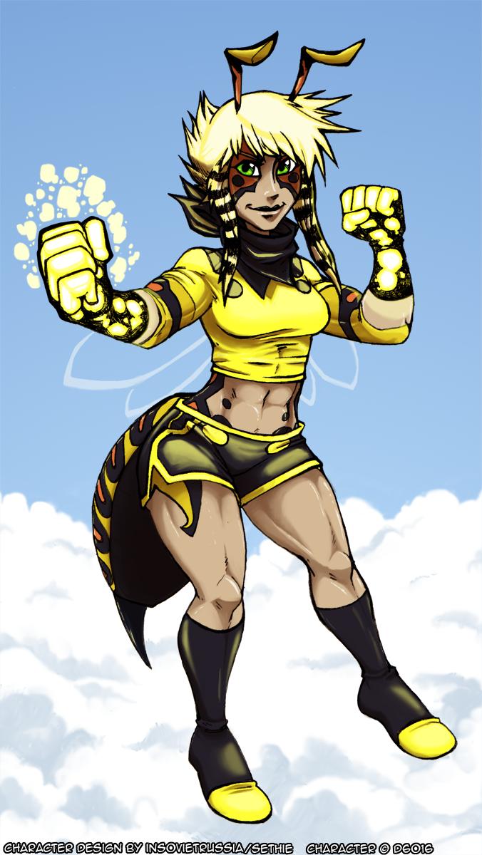 Susan Lancer- Wasp Girl