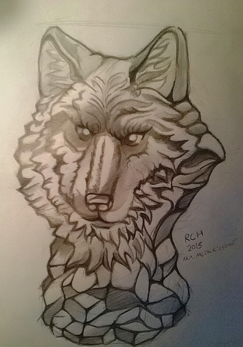 Most recent image: glass wolf statue