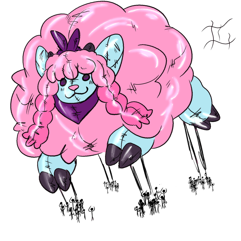 Cotton Wooloo Parade Float