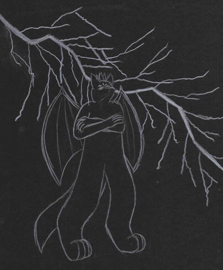 Sketchtober 27th - Thunder / Art or Treat - Ultra