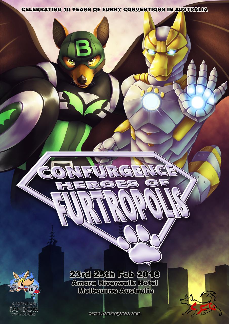 ConFurgence 2018 - Heroes of Furtropolis