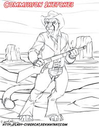 April 2015 Commission Sketch 6