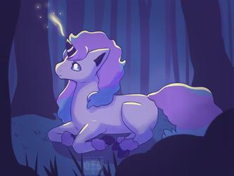 #077 Galarian Ponyta