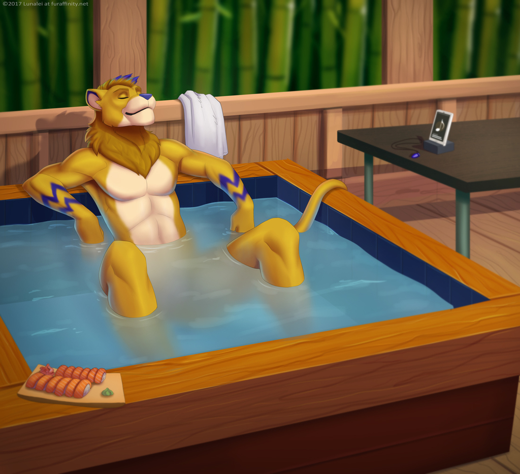 [COM] Soothing Hot Tub