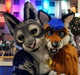 Eurofurence 2015 : Shanie & Freckles