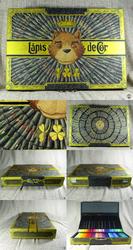 Coloured Pencils Wooden Case