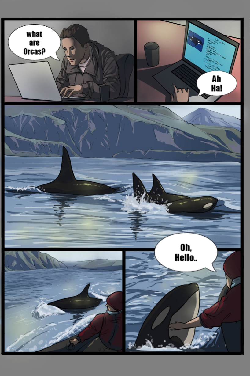 Most recent image: A love for a Orca Part 1