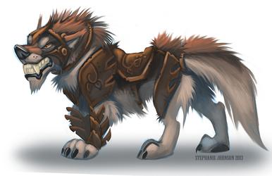 My Pathfinder Wolf- Sorin