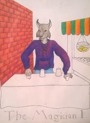 Anthro Tarot Deck The Magician