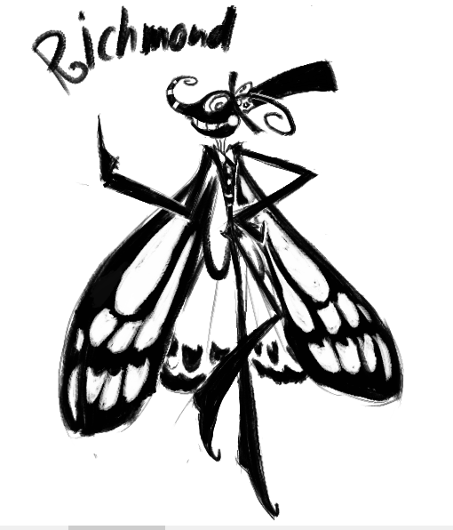 Most recent image: An Awfully Ominous Insect