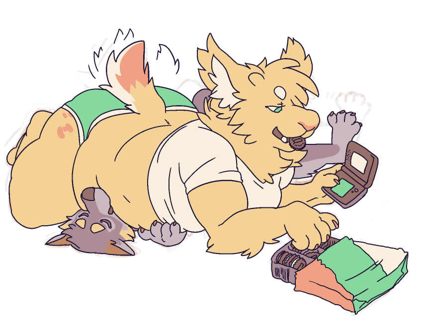 game + snack + snug