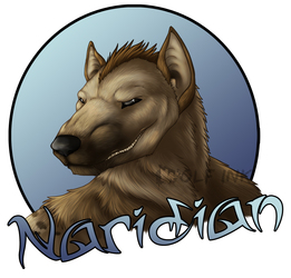 Naridian badge
