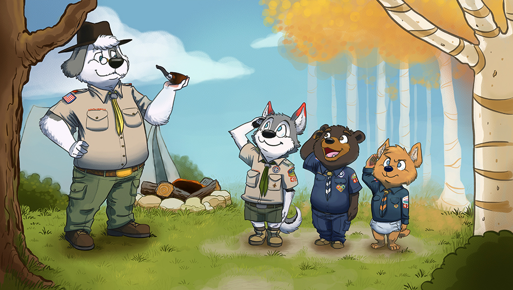Troop 42 by Guax