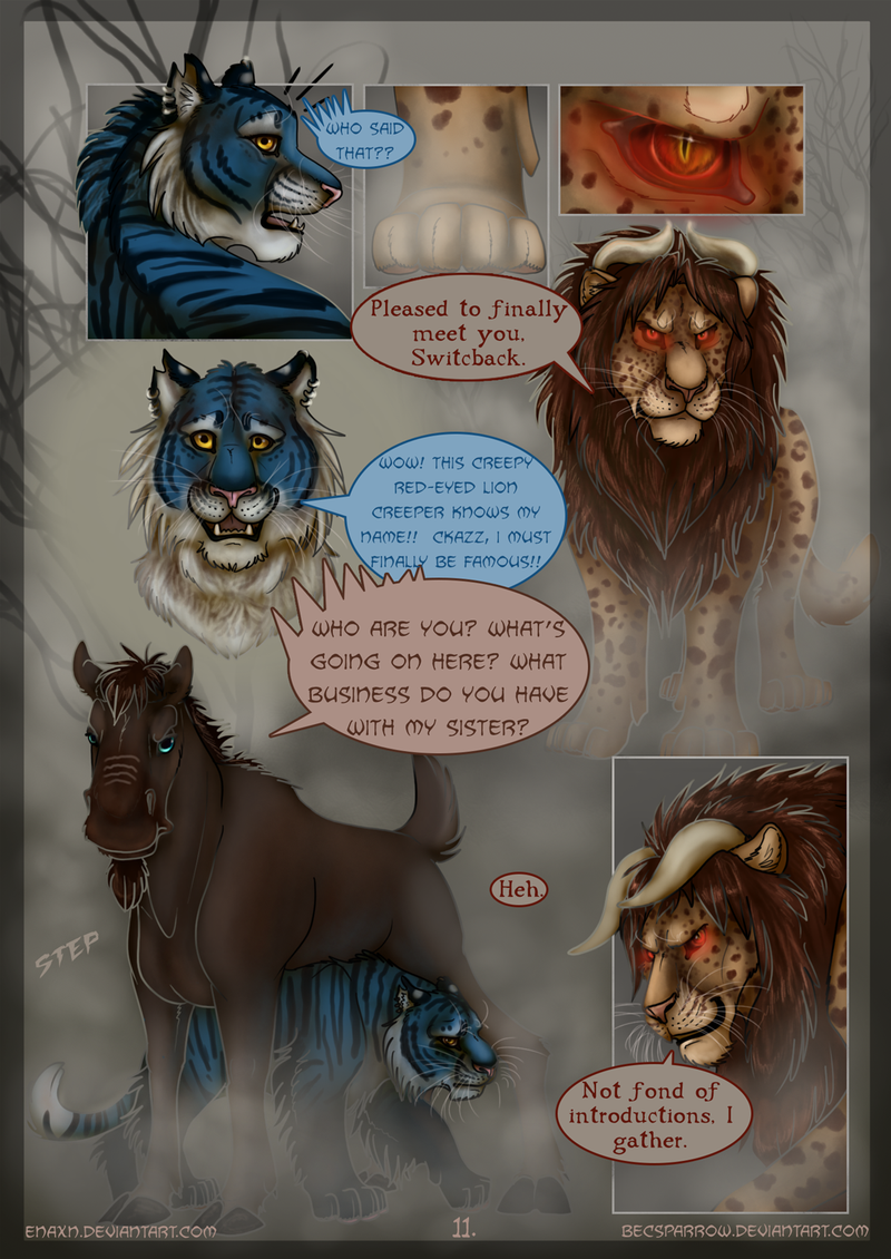 The Last Aysse: Page 11