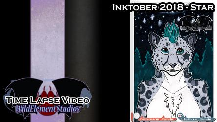 [VIDEO] Inktober 2018 - Star/Kirsten