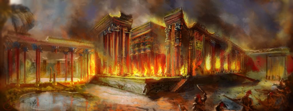 Most recent image: The Burning of Persepolis