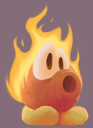 fire is hot