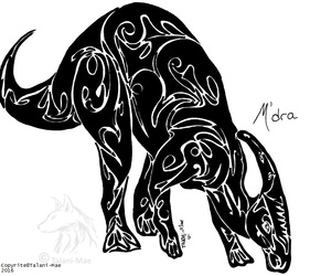 Tribal Parasaurolophus