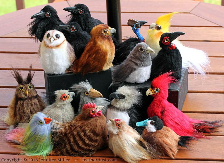 Bird Critters (July 2016)