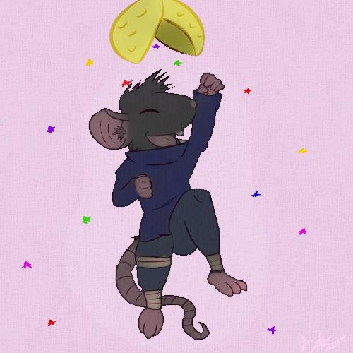 Celebrate - Alex the Rat