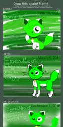 Draw This Again Meme: Genderbented Emeraldia