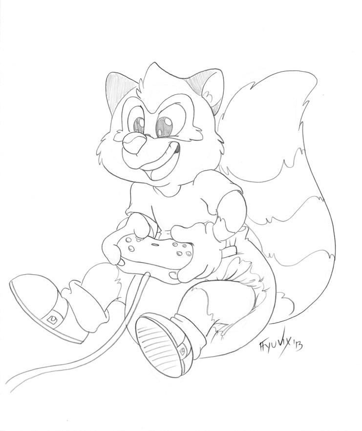 Tato Sketch - Sitting Pretty