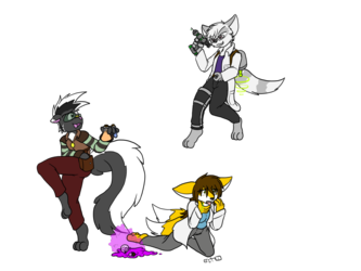 MB - Stank, Leshana, and James