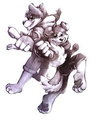 JD Puppy & Dantee [commission]