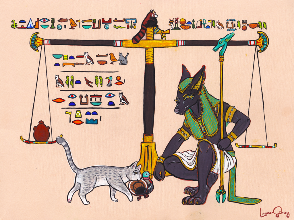 Most recent image: Circe and Anubis