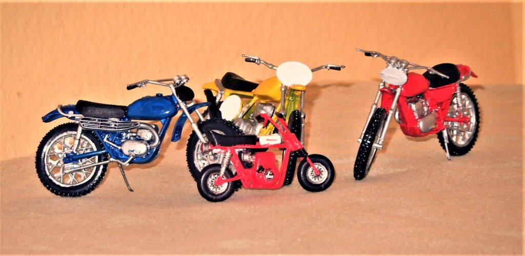 Three Bikes and a Baby