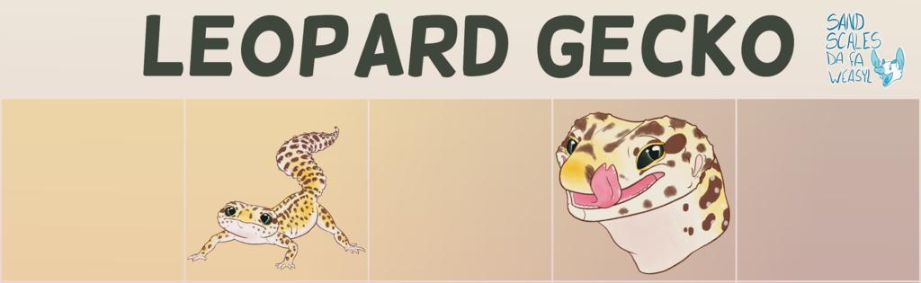 Telegram Stickers - Leopard Gecko