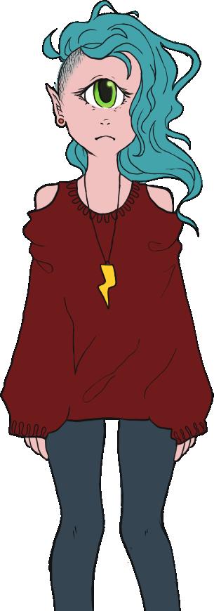 lil cyclops girl