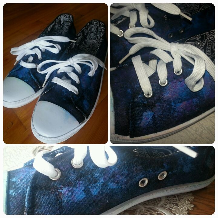 Galaxy Star Shoes