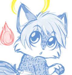 Little Fox Angel