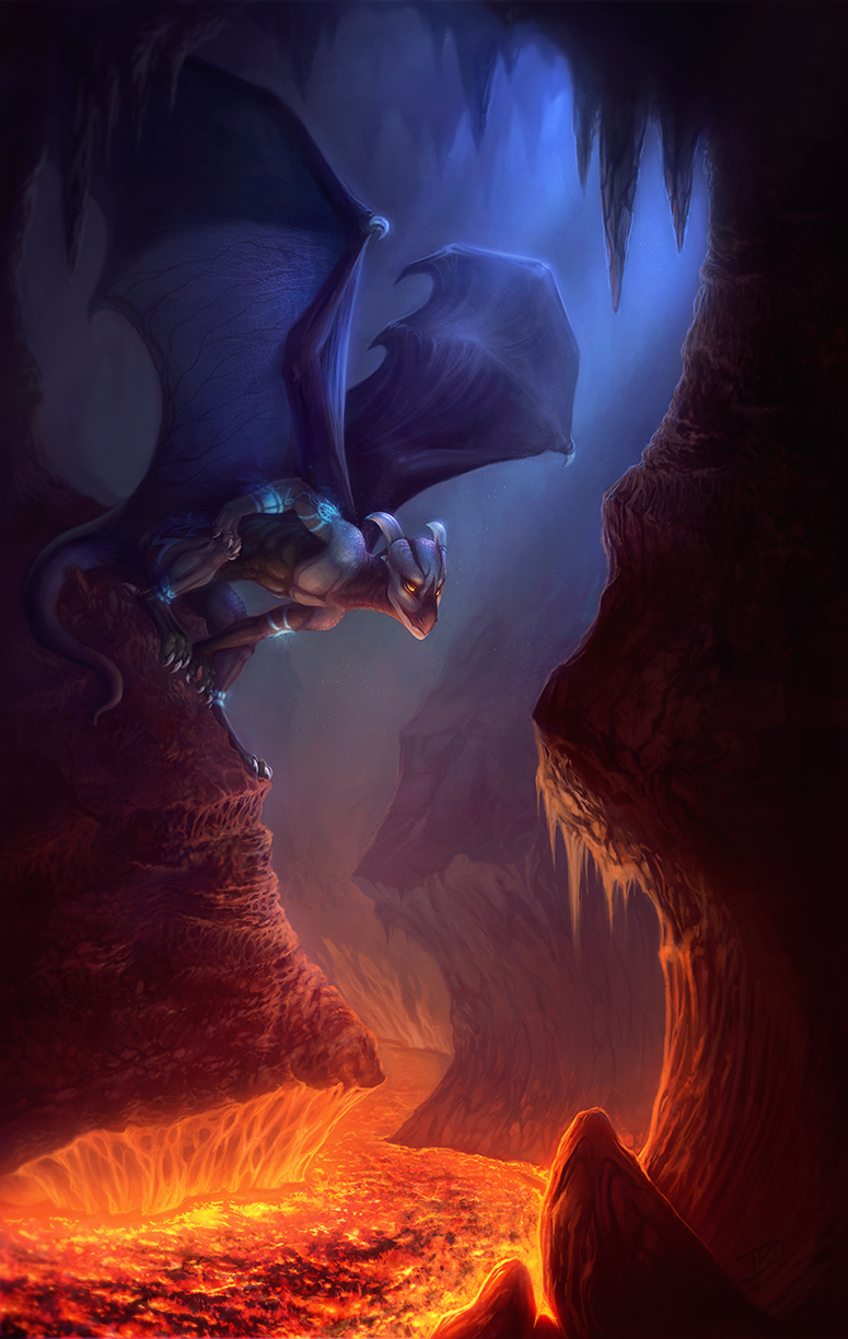 Down in the Caverns Deep