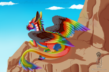 Colorful Sunbathing