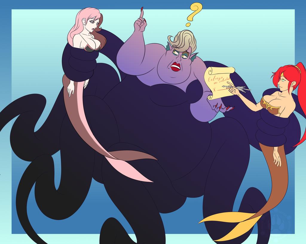 Neopolitan, Pirrha and Ursula