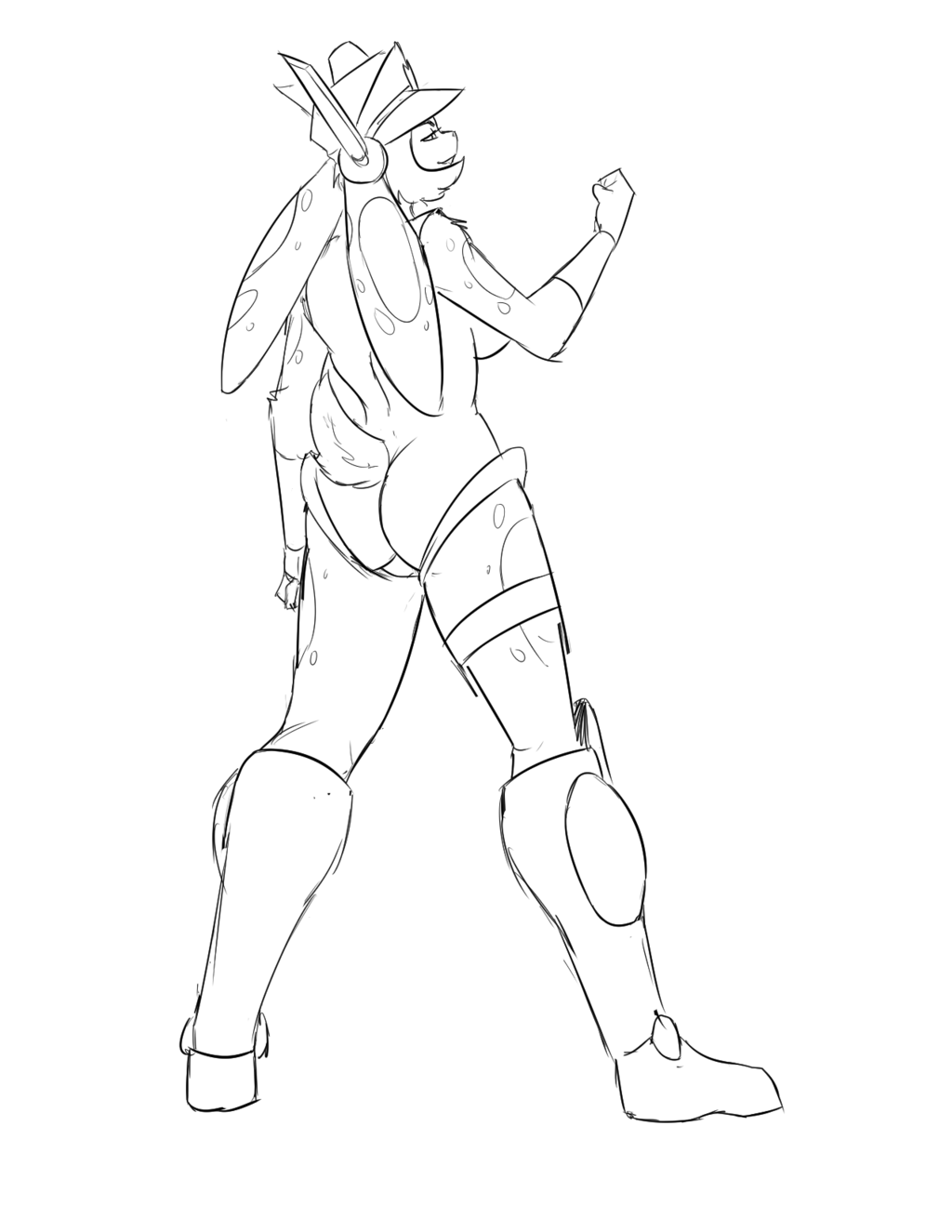 TangoBunny Mighty Switch Force outfit!