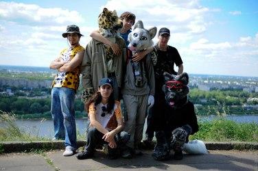 High park walk group photo