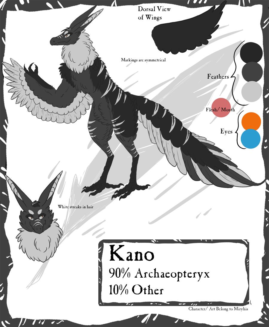 Kano Reference Sheet