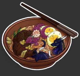 Skellio's noodle