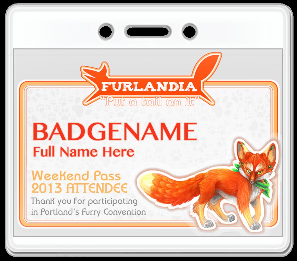 Furlandia Badge Design