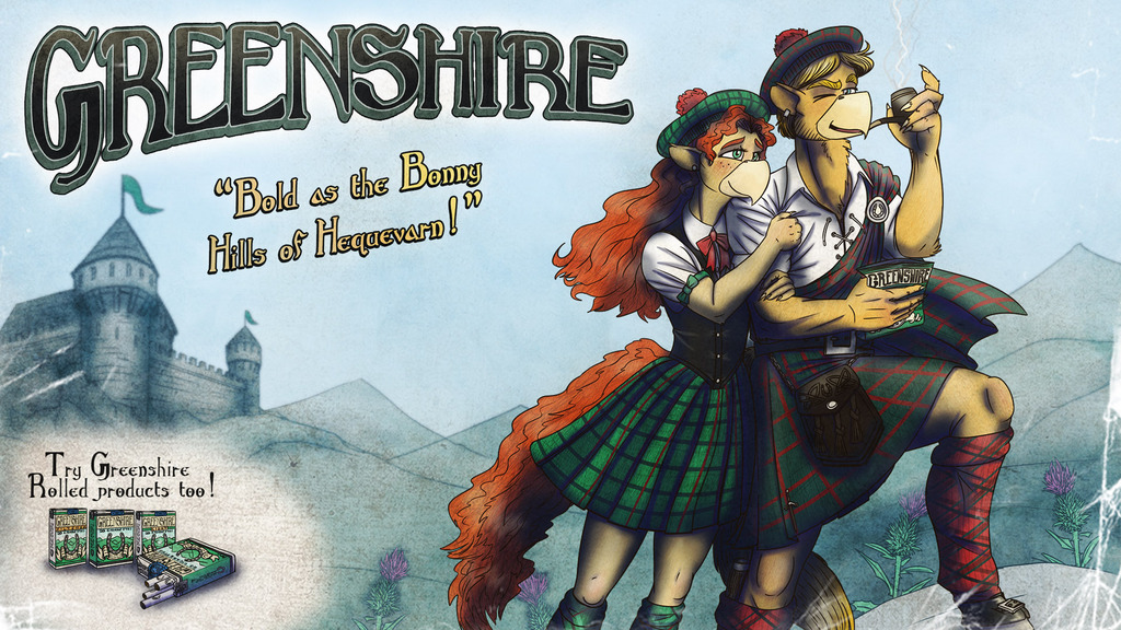 Greenshire Ad - Double Page Spread